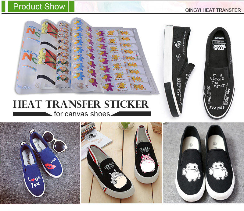 Custom Sticker Printing For Canvas Shoes